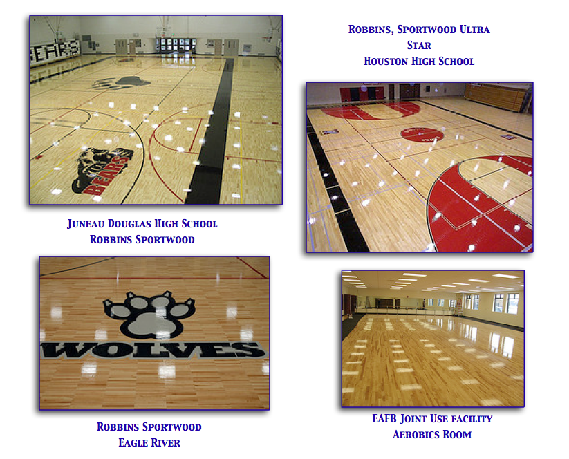 Wood Sports Surfaces